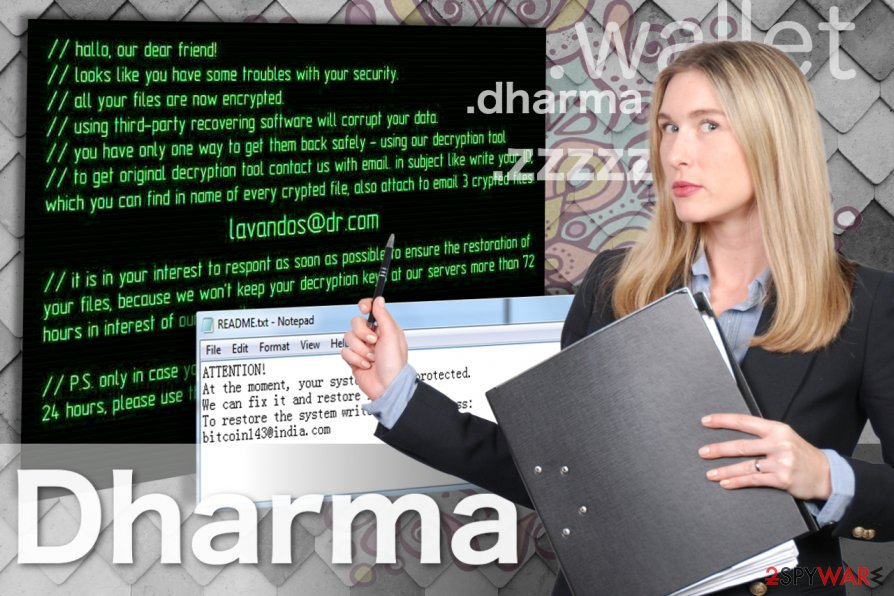 Free Dharma Decryptor Ransomware