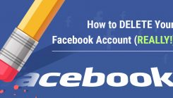 How to delete facebook or social Media Account permanently