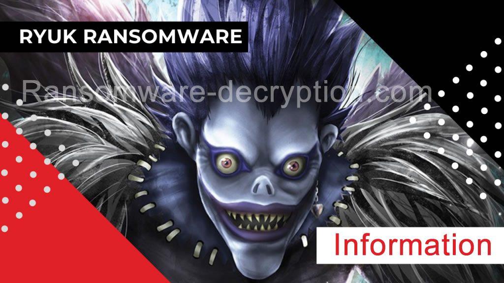 Ryuk Ransomware Decryption Decryptor
